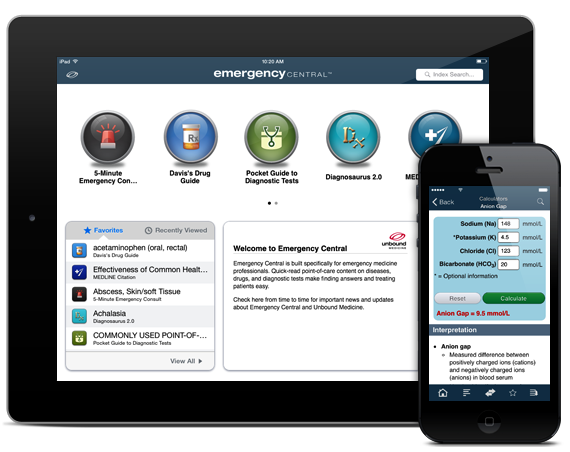Emergency Central iOS iPhone iPad Android
